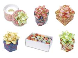 Jewelry Metallic And Paper Wrapped Ring Boxes
