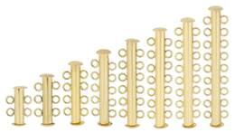 14KY 4MM WIDTH MULTI-STRAND BAR CLASPS 15587-14K