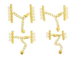 Gold Vermeil Adjustable Bar Clasps