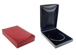 CLASSIC LEATHERETTE LARGE NECKLACE BOX 17728-BX