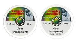 Clear Elastic Cord 0.50mm