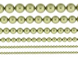 LIGHT GREEN PEARL SWAROVSKI CRYSTAL