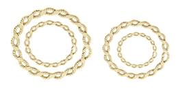 14K SOLDERED CLOSE BRAIDED JUMPRING 22529-14K