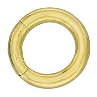 Gold Vermeil O Ring Clasp
