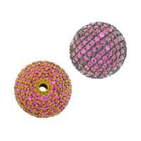 14K Ball Ruby Bead