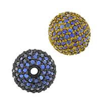 14K Ball Blue Sapphire Bead