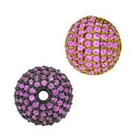 14K Ball Pink Sapphire Bead
