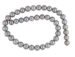 Freshwater Pearl Grey 9.5mm to 10.5mm Round