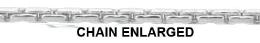 0.85mm Width Sterling Silver Cordette Chain