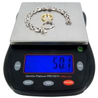 GemOro 1000 Grams Counter-Top Scales