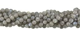 Labradorite Bead Faceted Ball Shape Grade A