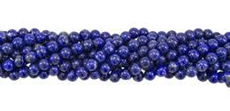 Lapis Lazulil Bead Ball Shape Gemstone GR-AB