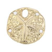 14KY 12mm Sand Dollar Charm