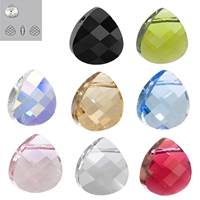 Sold By Pack Item 6012 Swarovski Crystal Pendants