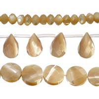 Mother of Pearl Bead (Brown Mother of Pearl)