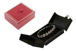 CLASSIC LEATHERETTE BANGLE OR WATCH BOX 27031-BX