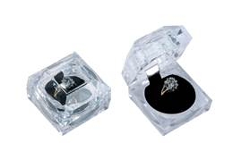 CRYSTAL STYLE RING BOX 18909-BX