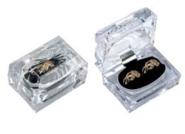 CRYSTAL STYLE DOUBLE RING BOX 27053-BX