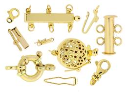 Gold Filled Clasp Components And Gold-Filled Clasp