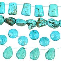 Turquoise Bead (Stabilized Turquoise)