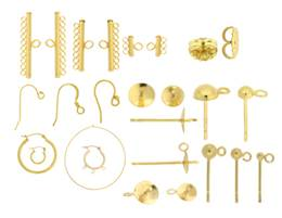 Vermeil Earrings And Earrings Components