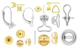 14k Earring And Earring Findings