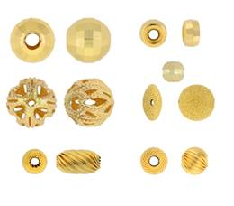 Gold Filled Fancy Beads