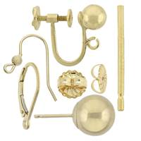 Gold Filled Earrings And Earring Components