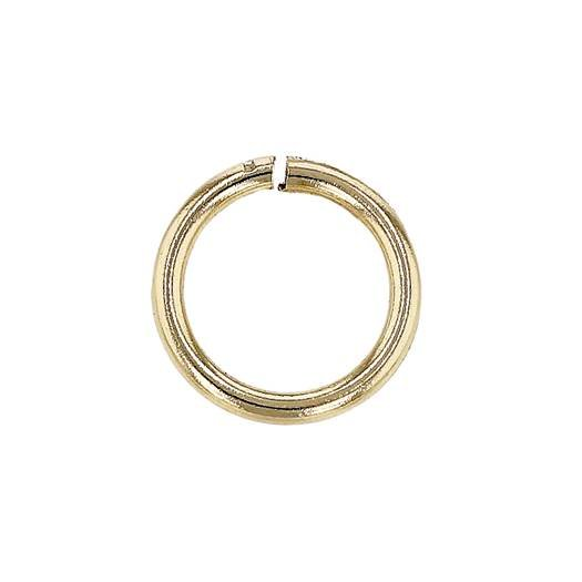10ky 6mm open jump ring 1mm thick