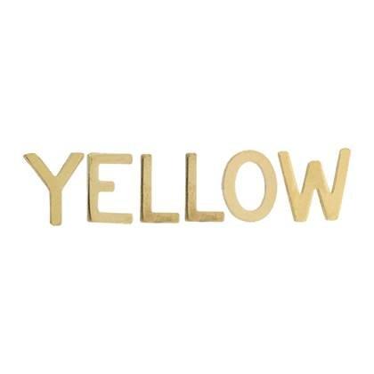 14K Gold Initial Block #2 Font Height 6.19mm
