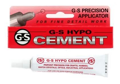 g-s hypo cement glue 0.33 fluid ounces