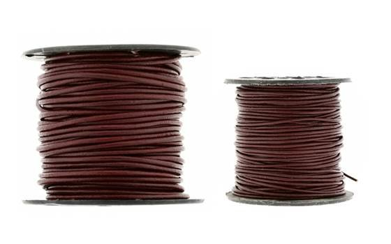 Leather Cord Brown