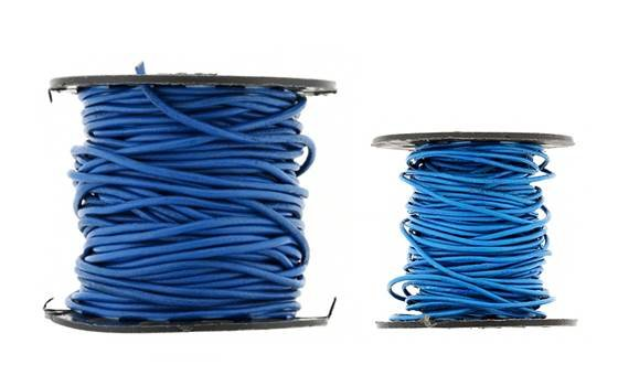 Leather Cord Blue