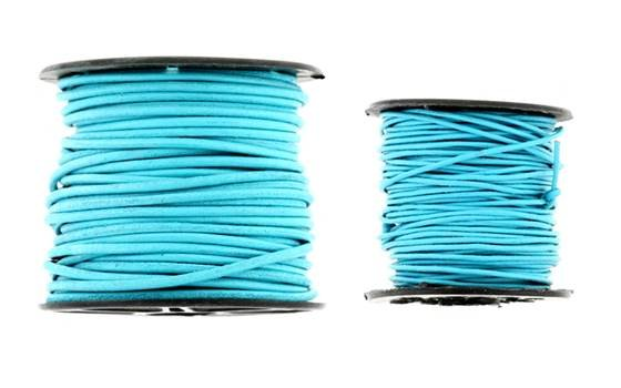 Leather Cord Turquoise