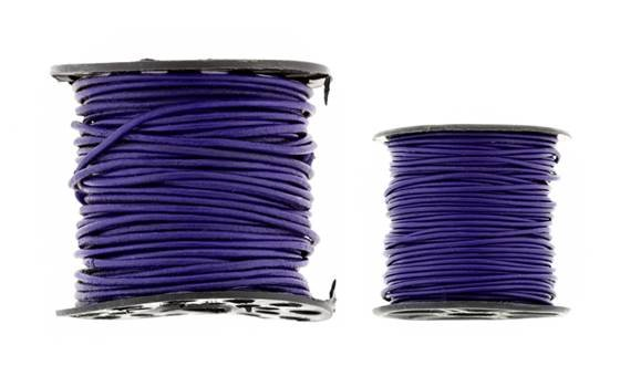 Leather Cord Amethyst