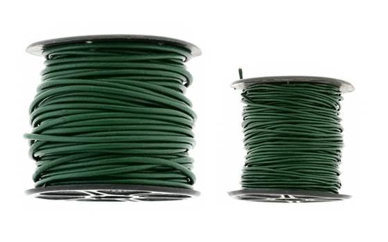 Leather Cord Dark Green