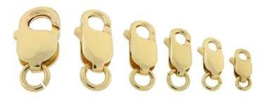 10k Gold Lobster Clasps