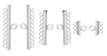 Sterling Silver Earring Ring Connectors