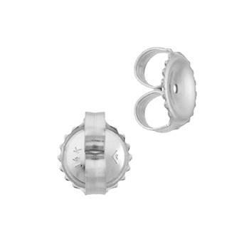14kw 7x0.76mm hole earring friction earnut