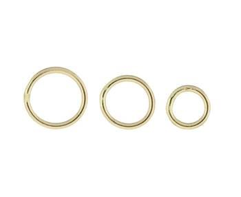 14K SOLDERED CLOSE JUMPRING 0.76MM THICK 18195-14K