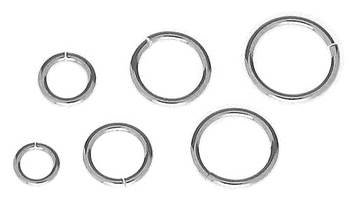Open Round Jumpring 0.9mm Thick (19 Gauge Wire)
