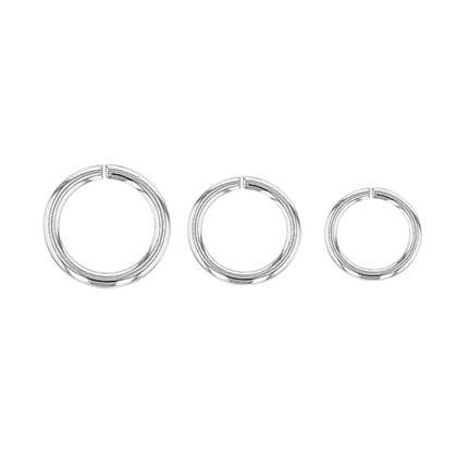 Open Round Jumpring 1.0mm Thick (18 Gauge Wire)