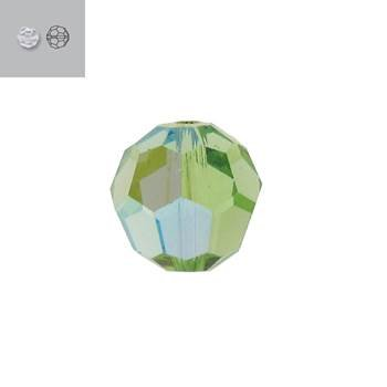 10MM PERIDOT AURORE BOREALE 5000 SWAROVSKI BEAD SOLD BY PACK