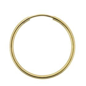 GOLD FILLED 20MM HOOP ENDLESS EARRING
