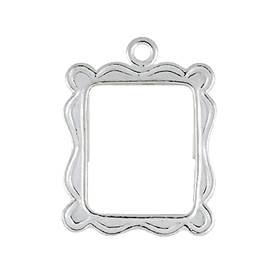 sterling silver 15x12mm rectangle picture frame