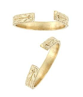 Gold Filled Arrow Head Ring Shank