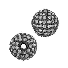 14kw 70pts 8mm champagne diamond ball bead