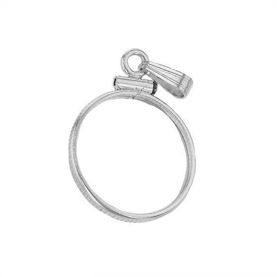 sterling silver 18.00 x 1.20 1.3mm width us dime coin bezel
