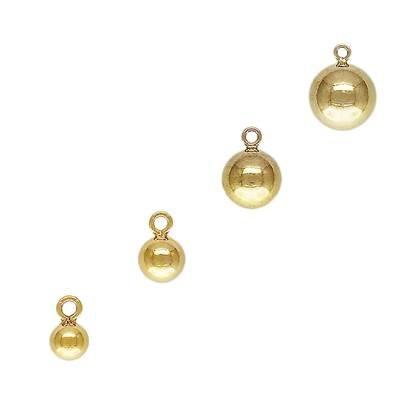 Gold Filled Ball Drop