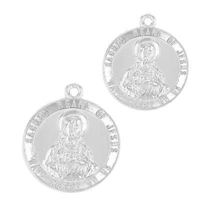 Sterling Silver Jesus Charm